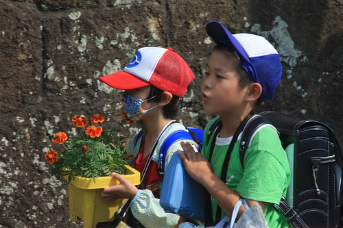 School Children: Oiso, Japan