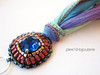PU033.2 (♥ - ISA - ♥ plexi10_bijouterie) Tags: handmade bracelet swarovski miyuki pulsera bisuteria abalorios hechoamano delicas