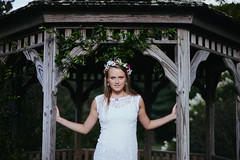 Maeve (Lindsay Caplan) Tags: city wedding summer portrait flower love nature floral outside groom bride engagement couple married outdoor marriage arboretum baltimore engaged cylburn