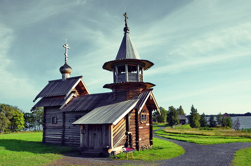 Chapel of the Archangel Michael, Kizhi Island, Northern Russia