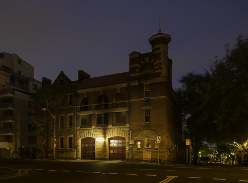 Pyrmont Fire Station