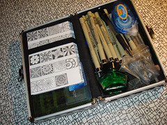 Tangle Tool Box (enajylime) Tags: patterns tangle zentangle