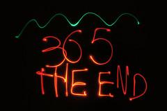 2013_364_theend (lgfoto26) Tags: lightpainting 365 2013 sonyalpha55 3652013 2013yip