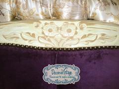 DecoraVintage - Respaldo Normando (DecoraVintage, ventas@tiendadecoravintage.cl) Tags: patchwork cama respaldo capitone butone respaldocama decoravintage