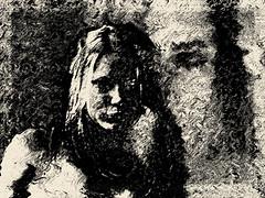 Christina (michael bauerschmidt) Tags: art digital gesicht digiart frau zeichnung skizze fotobearbeitung michaelbauerschmidt