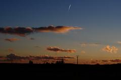 crépuscule hivernal en Touraine I (Chaufglass) Tags: sunset evening hiver soir crépuscule touraine