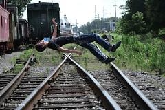 Levitation (tmseyer1s) Tags: railroad train tracks levitation