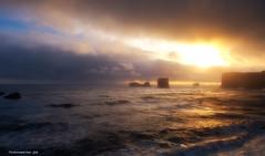 """Tramonto a sud ...Iceland"" (toniomarino1960) Tags: flickrstruereflection1 flickrstruereflection2 flickrstruereflection3"