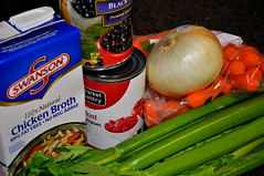 best black bean soup recipe goodncrazy carissa rogers secret ingredient veggies (GoodNCrazy) Tags: food vegetables dinner recipe soup beans ingredients carrots onion cans veggies celery prepare swanson chickenbroth cannedtomatoes