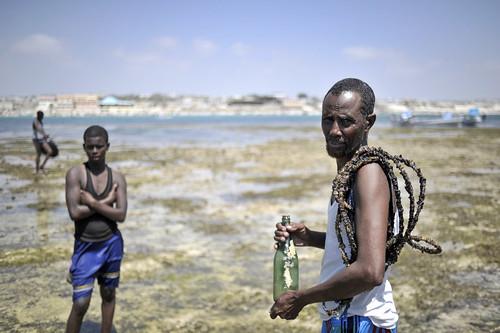 Scene from Lido Beach, Mogadishu