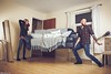 Hands Full (Rick Nunn) Tags: moving flat rick drop sofa angry knocked oops nunn spadge strobist canonef28mmf18usm