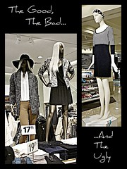 The Good, The Bad or The Ugly.... (Oh Kaye) Tags: mannequin good bad ugly nordstrom hm ribbet odc lloydcentermall 114in2014