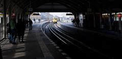 Explore the city (Guido Andreassi) Tags: berlin leave station train explore stazione treno berlino partire esplorare