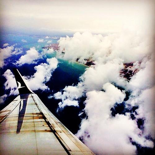 Antalya bulutların altında