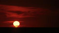 free energy for all.. (Coandă) Tags: life original light sunset red sky orange sun black colour nature yellow clouds contrast dark mexico coast blood backyard nikon holidays energy peace dof dusk yucatan sharp celestun crop f8 manualmode 18200mmf3556gvr hellscape 1xp