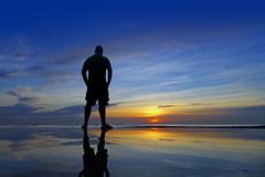 A New Day Dawns - EXPLORED! Thank you! :-) (Fotomondeo) Tags: sea españa beach valencia silhouette sunrise reflections mar spain playa alicante amanecer silueta reflejos alacant playadesanjuan