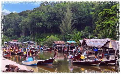 boat harbor, hua hin