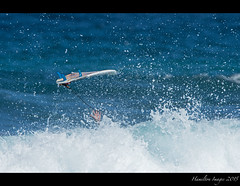 When Waves Get The Best Of A Surfer (Hamilton Images) Tags: canon hawaii surf waves hand january maui surfing hana surfboard 500mm kokibeach 2015 img2461 14xteleconverter 7dmarkii
