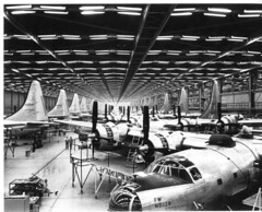 Ft. Worth 8-11-45  Cancelled B-32s (San Diego Air & Space Museum Archives) Tags: b32 aircraft aircraftmanufacturing consolidatedb32dominator b32dominator consolidatedb32 consolidateddominator