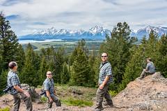multiplicity (wenman) Tags: travel utah hiking multiplicity teton grandteton