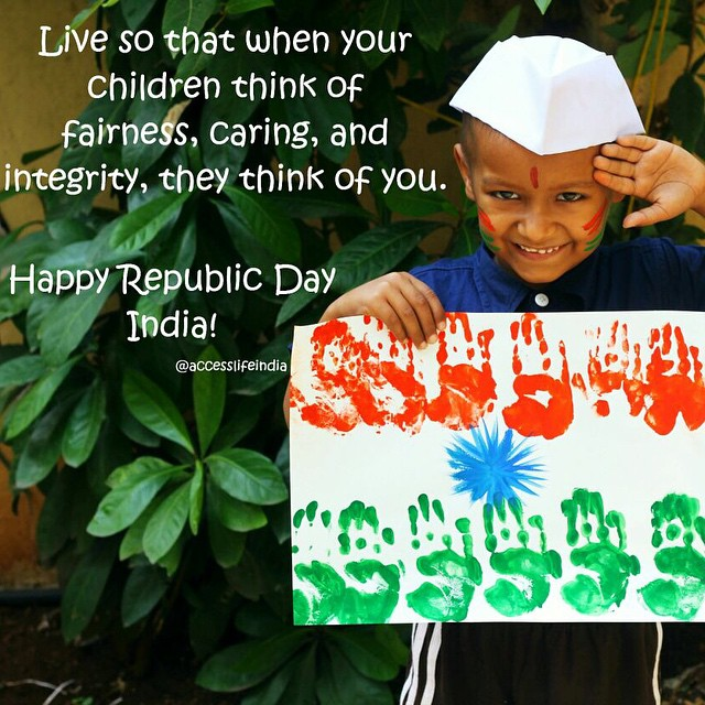 Happy Republic day. 😇😊😍 #India #RepublicDay #AccessLife