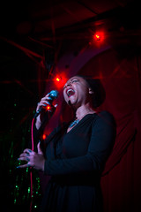 stars shining bright above you (gh0stdot) Tags: portrait london club canon stage singer nightlife cabaret bethnalgreen davidlynch 60d bestviewedonamac doublerclub