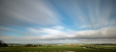 (Steven's Photo's) Tags: longexposure winter sky panorama clouds landscape movement view pano nd oxfordshire slowshutterspeed woodcote weldingglass didcotpowerstation