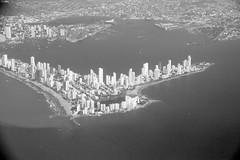 Bocagrande, Cartagena de Indias (SamSpade...) Tags: bw port colombia waves view skyscrapers harbour shoreline aerial beaches hotels lookingdown condos newcity bocagrande 564 3845 cartagenadeindias 140213