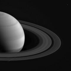 Saturn (and Enceladus?) stack February 04, 2015 cl1 cl2 (2di7 & titanio44) Tags: nasa saturn cassini
