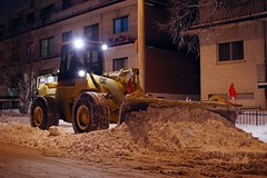 Snow Removal, Montral Style (#1) (Doundounba) Tags: snow montral pentax hiver qubec neige removal snowplow k3 villeray chasseneige sigmaexdc30mmf14 oprationdneigement