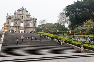大三巴(Ruínas da Antiga Catedral de São Paulo)