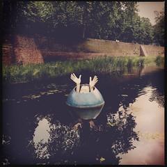 Den Bosch (Willo Eurlings) Tags: water denbosch gracht muur stadsmuur hipstamatic