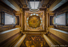Entry to the Painted Hall (James Neeley) Tags: london greenwich paintedhall jamesneeley