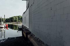 Red Boat (David Stebbing) Tags: street color flickr wickford kgleica