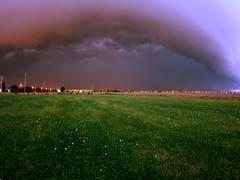 2016-05-28 (Gregg Kiesewetter) Tags: cloud storm weather illinois wideangle stormfront normalil normalillinois rokinon8mmfisheye