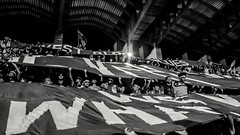 Thr West Block Love. (jb.sangma1) Tags: life passion football stadium people fans sports game monochrome black white shadows light