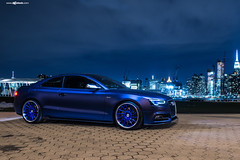 audi-s5-f451-spec2-polished-electron-blue-brushed-lip-6 (AvantGardeWheels) Tags: blue gallery euro electron audi coupe lowered forged polished stance s5 directional 2dr fitment f451