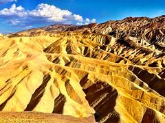 ZABRISKIE POINT, DEATH VALLEY, CALIFORNIA (clarkebuxton) Tags: california desert roadtrip deathvalley zabriskiepoint furnacecreek