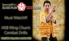 Black Flag Wing Chun Wing Chun 18 San Sik Combat Drills (Hek Ki Boen Eng Chun) Tags: man black flag wing chun donnie yen ki hek ip yip boen