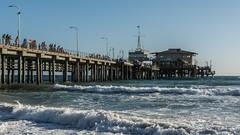 Santa Monica   |   Santa Monica Pier (JB_1984) Tags: ocean california ca usa beach pier waves unitedstates santamonica landmark pacificocean socal southerncalifornia santamonicapier losangelescounty