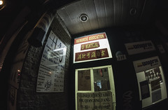 All in one (Frdric T. Leblanc) Tags: street light cinema canon chinatown montral mtl chinese fisheye stlaurent cinematic t3i filmlook