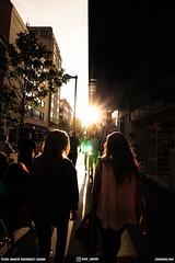 Walking the streets of Mexico City (DGNacho.com) Tags: city light shadow sun holiday streets silhouette wow walking mexico glare shine action rim strolling cdmx
