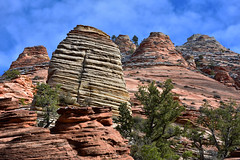 Zion (Kevin.Donegan) Tags: zion national park utah usa america travel adventure mountain nature rock formation outdoor landscape nikon d7200