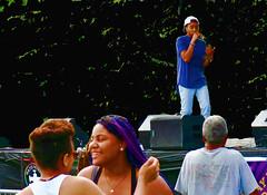 Devin - hip hop artist - performs at Washington Park (rik-shaw (blekky)) Tags: gay party devin lesbian rainbow pride lgbt hiphop gaypride albanyny washingtonpark lgbtpride waterworkspub capitaldistrict anyaday canong5x inourownvioces