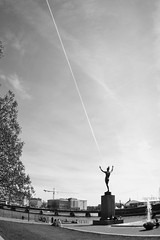 Untitled (Skaldum) Tags: street urban blackandwhite bw monochrome stockholm