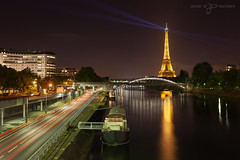 Nuit parisienne (greg02100) Tags: paris france tower seine night digital cityscape tour eiffel pont nuit blending birhakeim javel