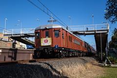"2016-06-13 Sydney Trains F1 Panania 800C C3426 (Dean ""O305"" Jones) Tags: new red heritage wales train expo south au transport sydney australia trains f1 line east hills deck single nsw rattler 800c panania c3426"