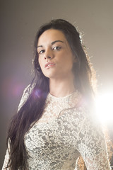 Berenice (Taniali) Tags: lighting portrait studio model retrato estudio modelo linda reflejo flare mirada beuty 500px ifttt