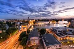 Wrocaw (Artur Sobolewski) Tags: wroclaw sky nikon d7100 architecture tower poland bridge heaven cloud sigma f14 1020mm