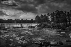 Daytime Night (Bo Drinkard) Tags: longexposure bw georgia waterfall fujifilm highfalls ndfilter fujix xt10 9stops